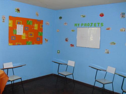 Adequate klaslokalen voor het taalonderwijs