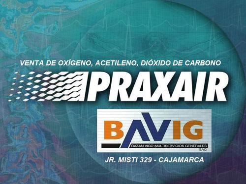 VENTA DE OXIGENO, ACETILENO Y GAS CARBONICO EN BAVIG SAC - CAJAMARCA