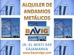 VERHUUR van steigers in Metal BAVIG SAC - Cajamarca