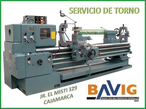 SERVICIO DE TORNO EN BAVIG SAC - CAJAMARCA