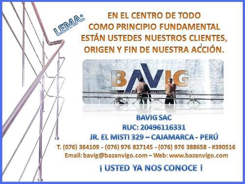 CONTACTO BAVIG SAC - CAJAMARCA