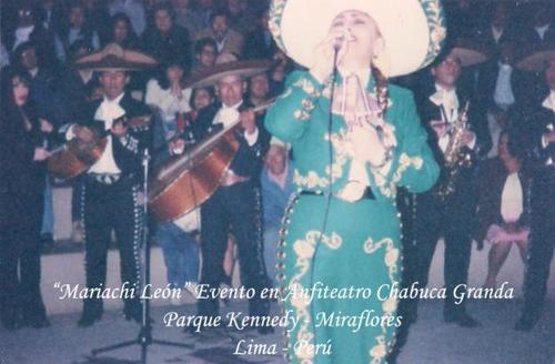 PERU-LIMA-MARIACHIS PART OF THE LIST OF LEON MARIACHI