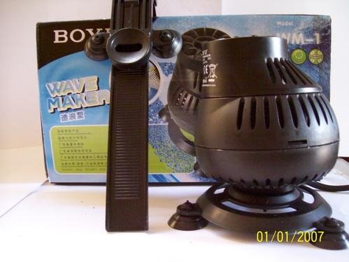 Hacedor De Olas Wave Maker Boyu Mod.wm1 Acuario Marino Peces