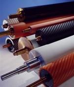 revestimento de rolos de rolos, rolos industriais.