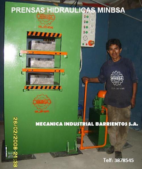Vulcanized Hydraulic rubber press