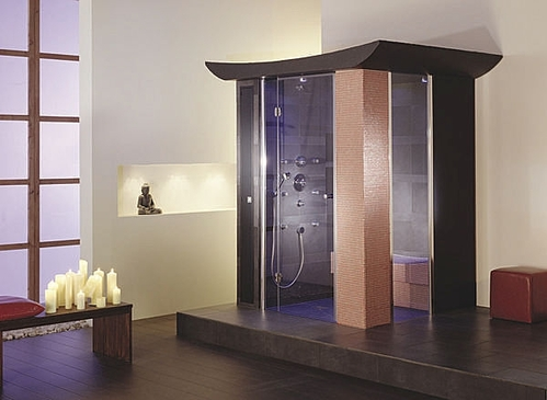 Draagbare stoomkamer thermische panelen