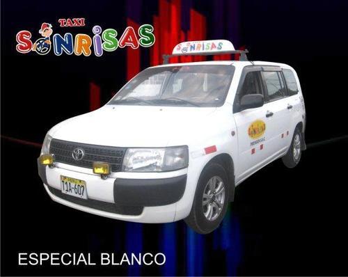 SERVICIO ESPECIAL COLOR BLANCO