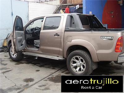 Camioneta en Alquiler Trujillo