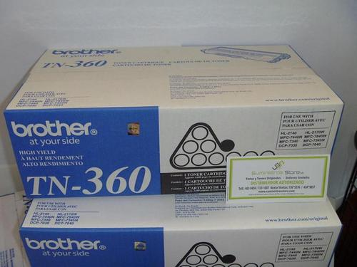 Toner Brother original para HL-2140 Codigo TN-360
