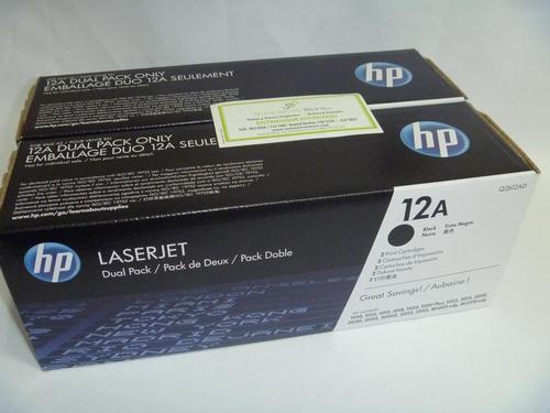 Toner HP Q2612 Dual Pack (dos Unidades) 1010-1012-1015-1018-1020-3015