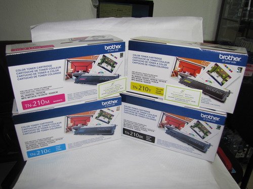 Toner Brother tn-210 hl-3040CN, hl-3070CW, mfc-9120CN.