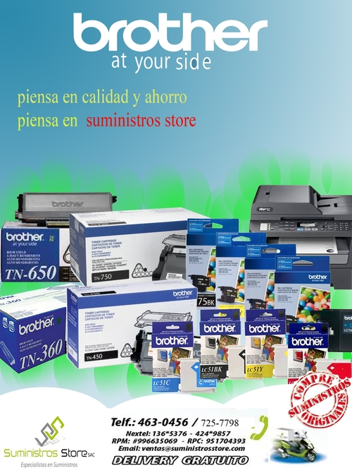 Brother Toner original distribuidor autorizado en Lima Peru