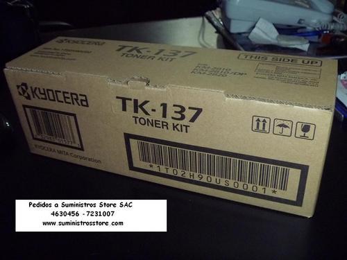 Toner Kyocera KM-2810 / KM 2810/DP/ KM-2820 Codigo TK-137