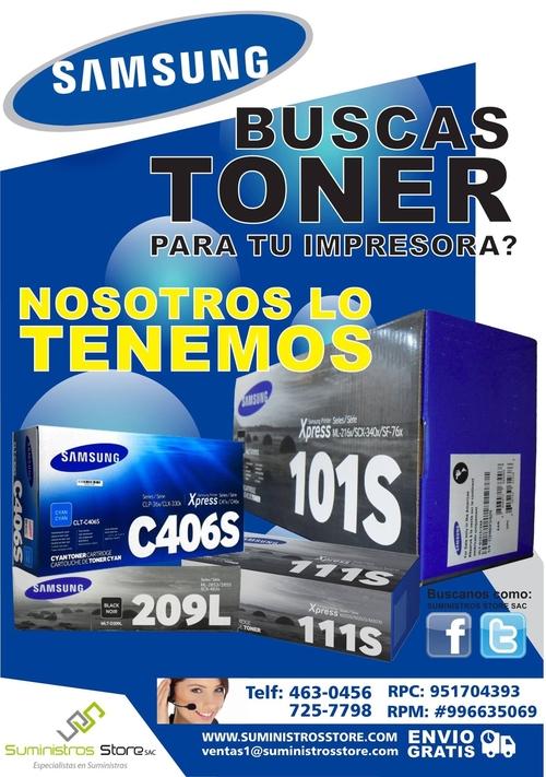 Toner Samsung Originales en Lima Peru - distribuidor autorizado
