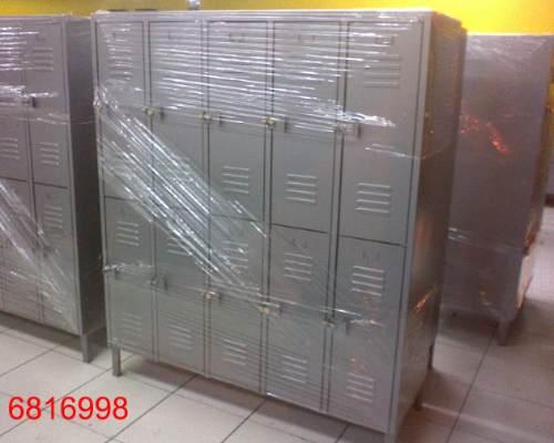 lockers metalico de5 cuerpos y 10 puertas