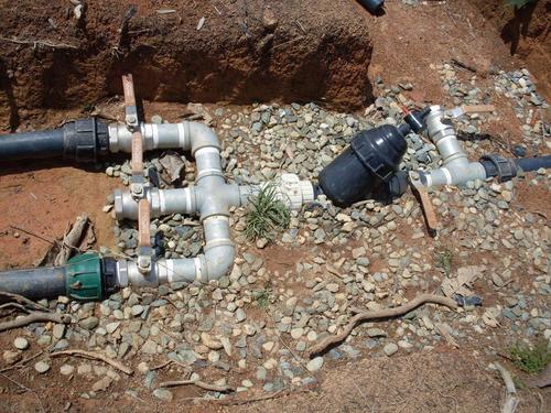 Filtrado y control en un sistema de riego