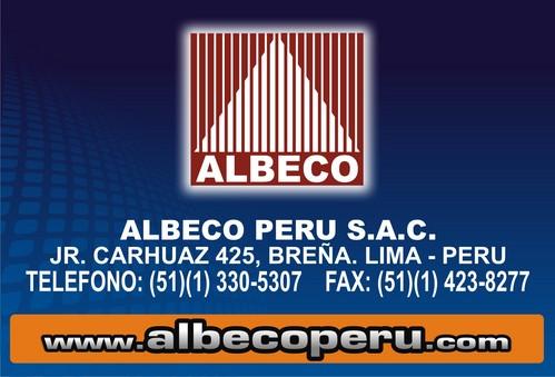 ALBECO - CONTACTENOS !!!