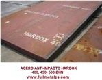 planchas de acero HARDOX 400, 500 bhn T-1, T-21 Chronit