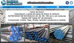 tubos de acero al carbon