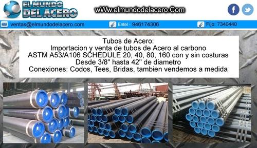 tubos de acero al carbono Astm A53/A106Api5L Schedule 160