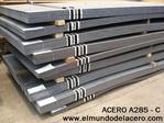 Planchas de acero para calderas Astm A285 grado C