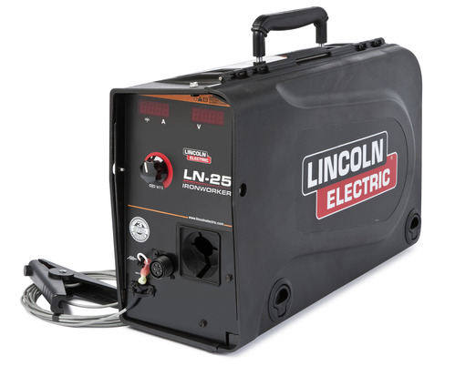 Semi-automatic Wire Feeder Lincoln Electric LN 25 Ironworker