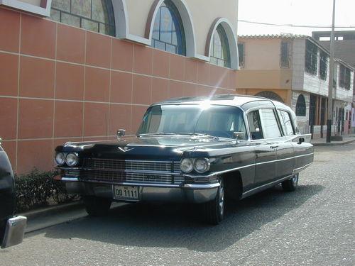 Carroza Cadillac Limousine para feretro
