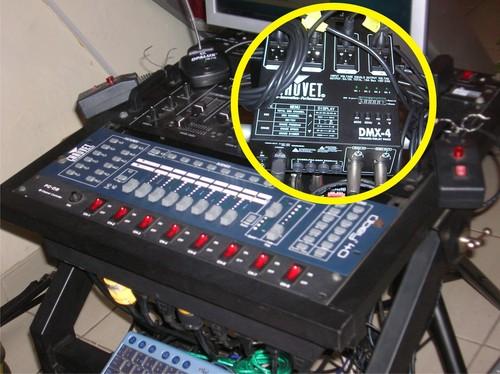 Control por DMX-512