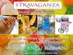 Snacks voor de partijen door Stravaganza