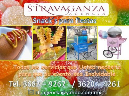 Snacks für die Parteien von Stravaganza