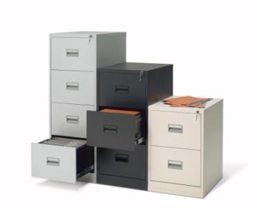 archivadores de metal
