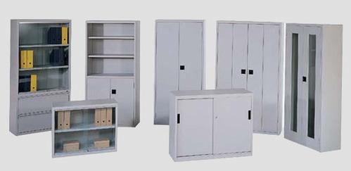 armarios de metal y otros muebles