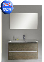 BATHROOM VANITY WITH DRAWERS AND SINK - 35
