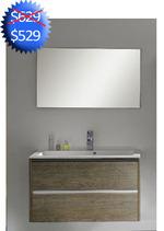 Muebles de Banos con gavetas y lavamanos - 35