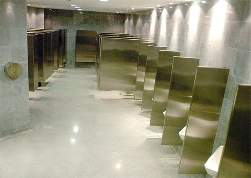 BATHROOM DIVISIONS IN STAINLESS STEEL