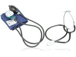 Rev. Pressure Aneroid w / Stethoscope