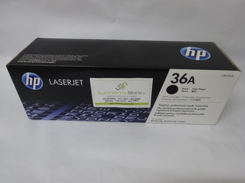 HP 36A Toner for Models P1505/M1120/M1522