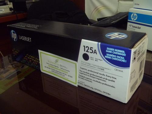 CB-540A Black Toner for CP-1215/1515