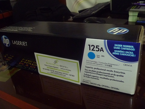 CB-541 Toner For HP models Color cyan CP-1215/1515/CM1312