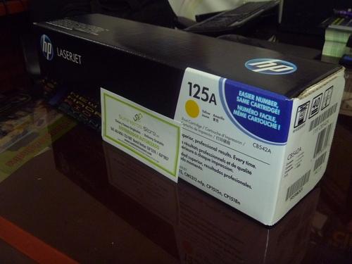 Toner HP A Color Amarillo Codigo CB-542 para CP-1215/CP1515