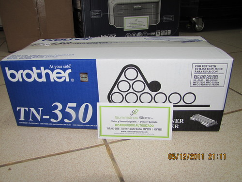 Toner Brother TN-350 original Garantizado - Delivery gratuito Lima