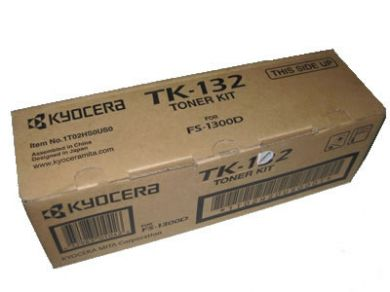 Kyocera FS-1300 TK-132 Toner Toner oorspronkelijke gratis bezorgd