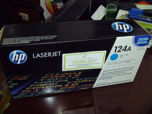 HP Q6001A Cyan Toner for HP 2600 and 2605 models to colors
