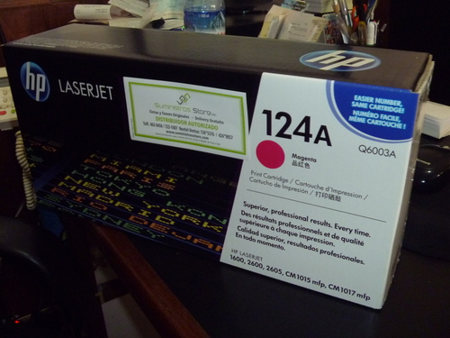Original HP Q6003A Magenta Toner HP 2600 and 2605