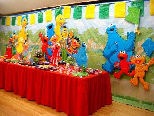 Elmo y Plaza Sesamo