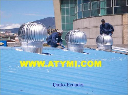 Extractores eolicos ATYMI