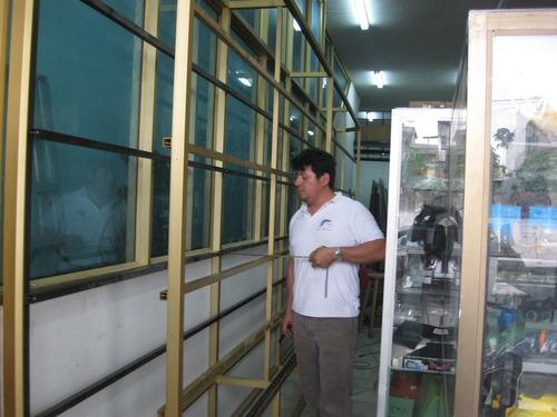 vitrinas empotradas