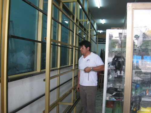 janelas Recessed