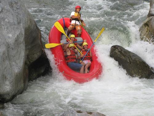 Langoesten River Rafting