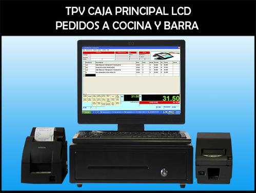 CAJAS COMPUTARIZADAS - LCD NUEVOS PARA RESTAURANT, POLLERIAS Y AFINES